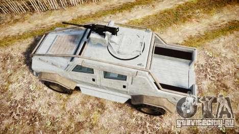 GTA V HVY Insurgent Pick-Up для GTA 4 вид справа