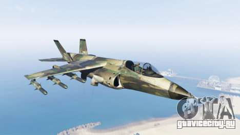 Hydra green camouflage для GTA 5
