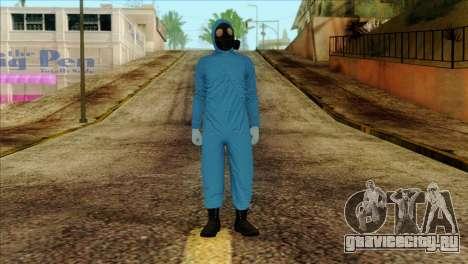 Skin 1 from Heists GTA Online DLC для GTA San Andreas