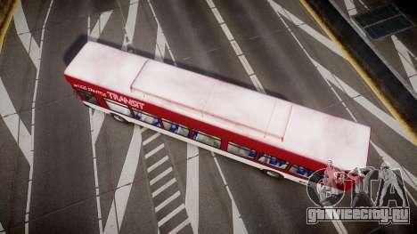 GTA V Brute Bus для GTA 4 вид справа