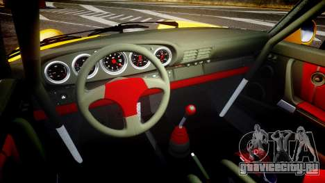 RUF CTR Yellow Bird для GTA 4 вид изнутри