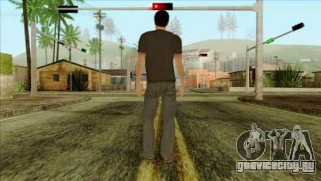 Young Alex Shepherd Skin для GTA San Andreas второй скриншот