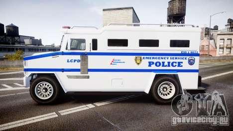 GTA V Brute Police Riot [ELS] skin 4 для GTA 4 вид слева