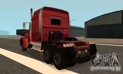 PS2 Linerunner для GTA San Andreas вид слева
