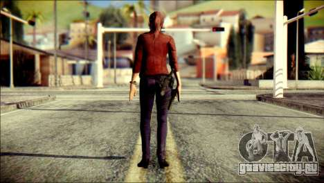 Claire Redfield from Resident Evil для GTA San Andreas второй скриншот