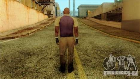 Coach from Left 4 Dead 2 для GTA San Andreas второй скриншот