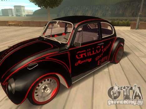 Volkswagen Super Beetle Grillos Racing v1 для GTA San Andreas