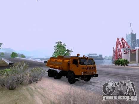 КамАЗ 53212 для GTA San Andreas вид сзади слева