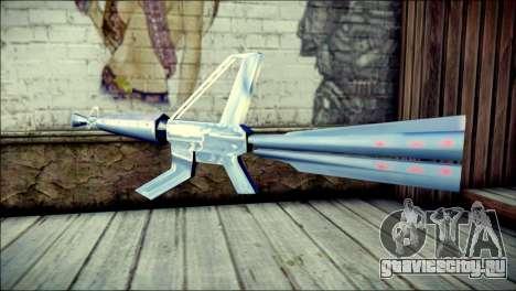 Laser Gun для GTA San Andreas второй скриншот