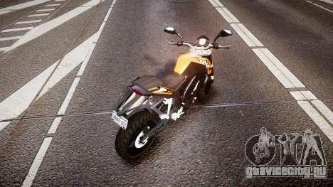 KTM 125 Duke для GTA 4 вид сзади слева