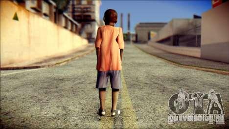 Madison Child Skin для GTA San Andreas второй скриншот