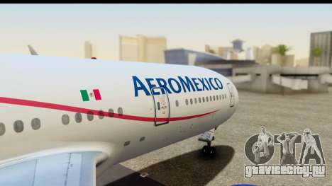 Boeing 777-200ER AeroMexico для GTA San Andreas вид справа