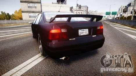 Declasse Merit GTO для GTA 4 вид сзади слева