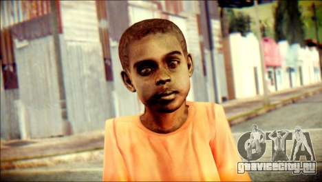 Madison Child Skin для GTA San Andreas третий скриншот