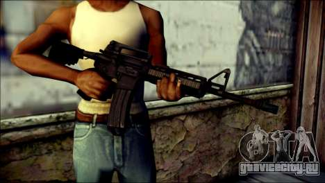 Rumble 6 Assault Rifle для GTA San Andreas третий скриншот