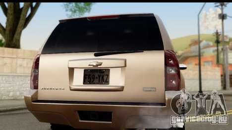 Chevrolet Suburban 4x4 для GTA San Andreas вид справа