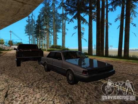 HQ ENB Series v2 для GTA San Andreas седьмой скриншот