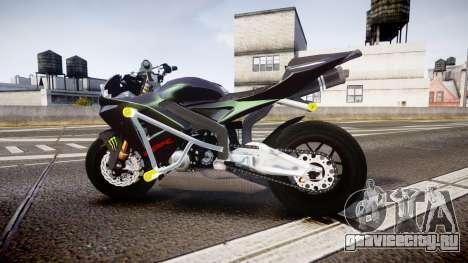 Honda CBR600RR Stunt для GTA 4 вид слева