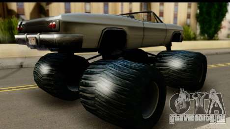 Monster Blade для GTA San Andreas вид слева