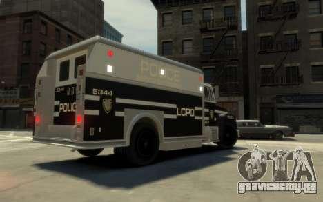 GTA 3 Enforcer HD для GTA 4 вид слева