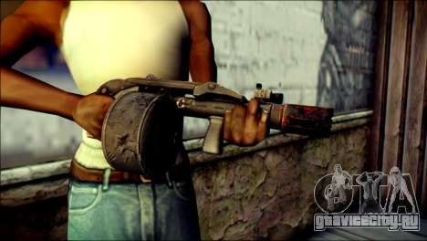 Rumble 6 Combat Shotgun для GTA San Andreas третий скриншот
