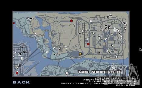 GTA 5 Map Mod v1.3 для GTA San Andreas второй скриншот