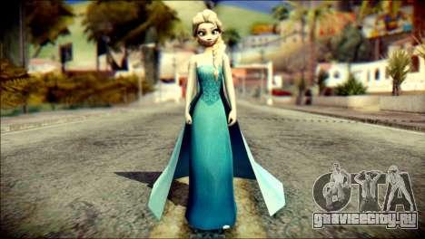 Frozen Elsa v2 для GTA San Andreas