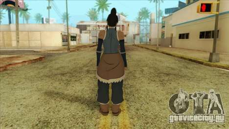 Korra Skin from The Legend Of Korra для GTA San Andreas второй скриншот