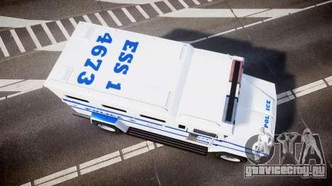 GTA V Brute Police Riot [ELS] skin 4 для GTA 4 вид справа