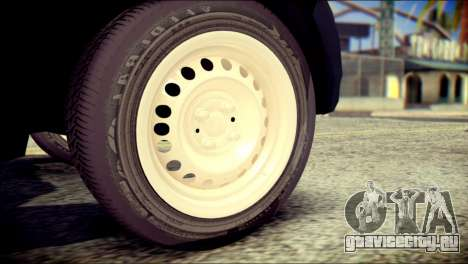 Mitsubishi Pajero Sport Dakar для GTA San Andreas вид сзади слева