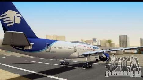 Boeing 777-200ER AeroMexico для GTA San Andreas вид слева