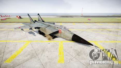 МиГ-25 для GTA 4