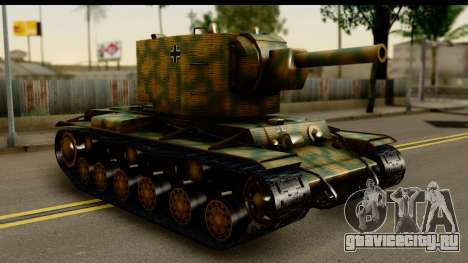 KV-2 German Captured для GTA San Andreas