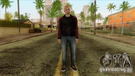 Skin 4 from Heists GTA Online DLC для GTA San Andreas