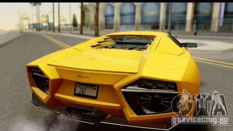 Lamborghini Reventon 2008 для GTA San Andreas вид справа