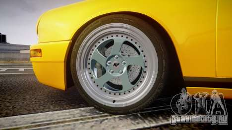 RUF CTR Yellow Bird для GTA 4 вид сзади