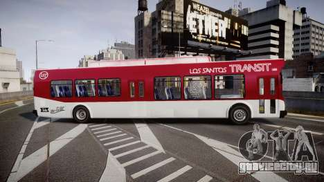 GTA V Brute Bus для GTA 4 вид слева