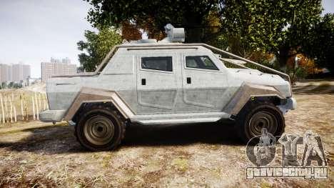 GTA V HVY Insurgent Pick-Up для GTA 4 вид слева