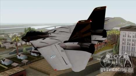 Grumman F-14B VF-193 Lions для GTA San Andreas вид слева