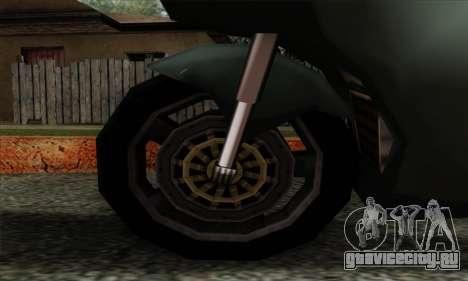 GTA LCS PCJ-600 для GTA San Andreas вид сзади слева