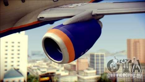 Boeing 737-800 Aeroflot для GTA San Andreas вид справа