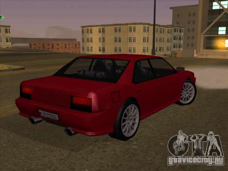 Sultan GunkinModding для GTA San Andreas вид слева