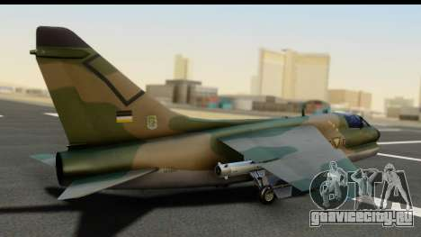 Ling-Temco-Vought A-7 Corsair 2 Belkan Air Force для GTA San Andreas вид слева