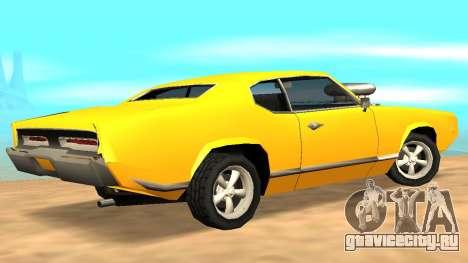 Sabre Charger для GTA San Andreas двигатель