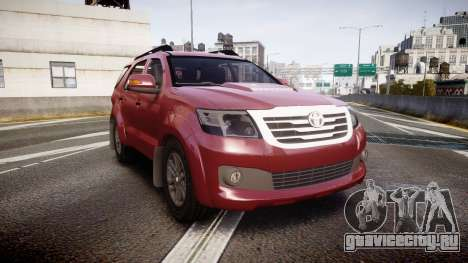 Toyota Hilux SW4 2015 для GTA 4