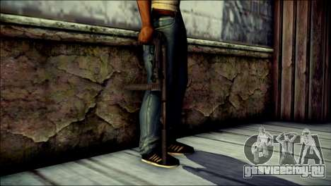 Silenced MP40 from Call of Duty World at War для GTA San Andreas третий скриншот
