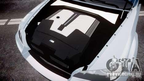 BMW X6 Tycoon EVO M 2011 Hamann для GTA 4 вид изнутри