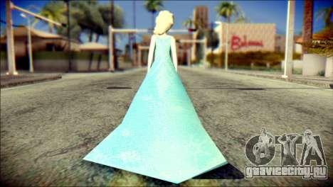 Frozen Elsa v2 для GTA San Andreas второй скриншот