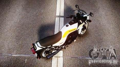 Kawasaki GPZ1100 для GTA 4 вид справа