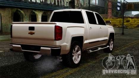 Chevrolet Silverado 2014 LTZ для GTA San Andreas вид слева